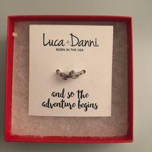 "Luca & Dani: Silver ""Adventure"" Ring"